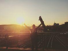 Travel and skateboarding in Berlin #skate #trinegrimm #berlin