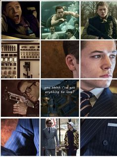 Eggsy is a character with many flaws and incredible depth. And that sass...