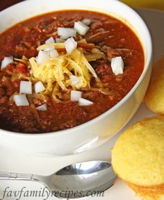 Cheater Chili-- I love a good chili and this one seems good if you're in a rush... or just feeling lazy. :)