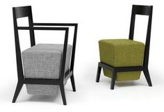 Schema Carver Chairs - Geoff Machen Upholstered seating designed for restaurants and bars. Available in oak, ash or beech with leather or fabric