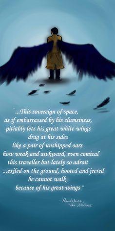 #Supernatural #Castiel #Fanart #Poem