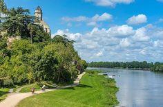 Vivement le printemps pour profiter des belles balades à vélo le long de la Loire à St-Florent le Vieil, une si jolie petite Cité de Caractère...