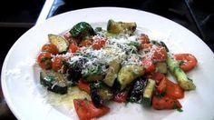 Zeleninový salát ke grilovanému masu