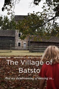 The Village of Batsto And my daydreaming of moving in... Another Ghost Town Located in the Pine Barrens in New Jersey, this ghost town was once a thriving community of Iron and Glass works. I dream of weaving modernity into a village like this, encapsulating the