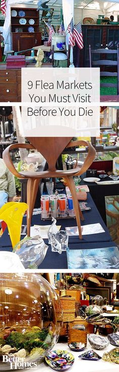 The United States is filled with amazing flea markets that you should visit to find amazing antique and vintage furniture, decor, clothing, and other treasures. Some of our favorite flea markets include ones in New York, Illinois, and Florida.