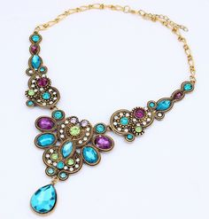 Like and Share if you want this  Hot Jewelry Fashion Bohemia Vintage Crystal Flower Choker Necklaces For Woman 2015 New necklaces & pendants Gift 178     Tag a friend who would love this!     FREE Shipping Worldwide     Buy one here---> http://jewelry-steals.com/products/hot-jewelry-fashion-bohemia-vintage-crystal-flower-choker-necklaces-for-woman-2015-new-necklaces-pendants-gift-178/    #new_earrings