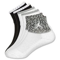Jordan 3-Pack Crackle Infant Crew Socks