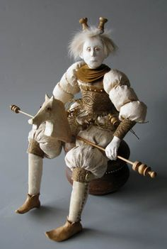 White Chess Prince by Marlaine Verhelst