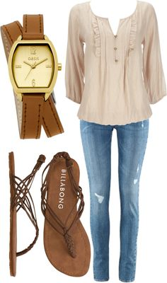 """""""neutral fashion"""" by kaitlin-2494 on Polyvore"""