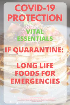 Essential coronavirus quarantine food list - non-perishable food - long lasting food supply on a budget Emergency Preparedness Food, Emergency Food Storage, Emergency Food Supply, Emergency Preparation, Emergency Supplies, Survival Food, Food Items List, Food Lists, Non Perishable Food Items