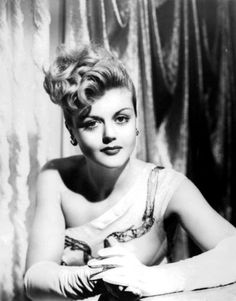 Photo taken: 1940s Person: Angela Lansbury Artist: unknown Source: aintthatakick.tumblr.com Age: 37
