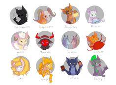 Zodiac Signs by xepxyu on DeviantArt