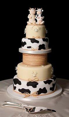 Farm wedding cakes