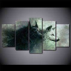 Ying Yang Wolf