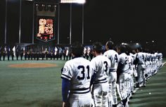 Opening Day at The K! We take a look back at the very first one at Kauffman Stadium in #KCMO in 1973.
