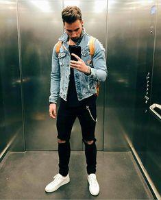 Estilos de hombres/Men fashion #mensoutfitsstreetwear