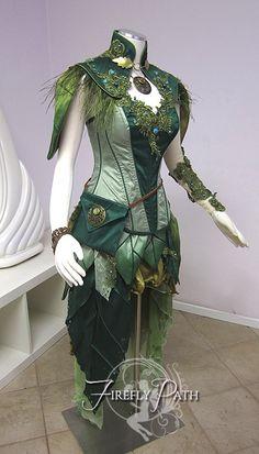 pogonabarbata:  Dryad Archer Costume by Lilly Xandra Waaaaaaaaaaaaant!