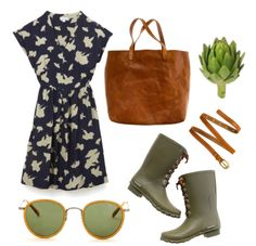 Summer trip to the Farmer's Market    (Source: thatkindofwoman)      POLYVORE STYLE// TKOW STYLE// SARTORIAL STYLE