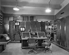 Control Room-Atomic Test, 1957