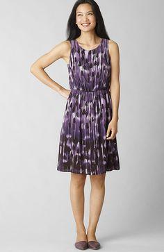 jjill - emma's 1st grown-up dress   tonal brushstrokes dress - lgnbmdbrsh