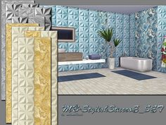 Sims 4 CC's - The Best: Wallpapers by Matomibotaki