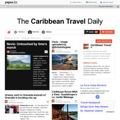 The Caribbean Travel Daily for October 28, 2013. Yes, you can subscribe (It's Free!) ... and get the latest on Caribbean travel. Travel Companies, Caribbean, Photo And Video, October, Free, Blogger Templates, Plants, Political Freedom, Columns
