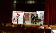 South County's first Domestic Violence Coalition meeting featured a skit from Campesinos sin fronteras. The play was surreal and brought back some hurtful memories. Bravo