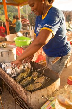 Fish Fry, a Saint Lucian street party every Friday night
