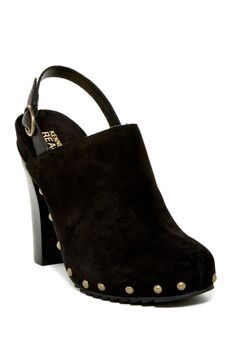 Kenneth Cole Reaction Look Away Studded Slingback Mule