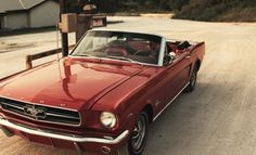 Mustang.  One day I will own a beat up old Mustang, and fix it up from top to bottom..