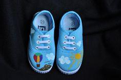 Zapatillas pintadas a mano | Señorita Colibrí