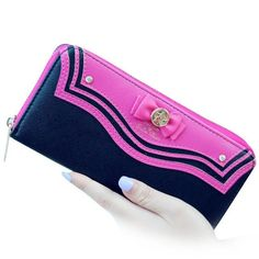 Women Wallet New Fashion Bow Sailor Moon Women Long Purse Bow Wallet Clutch Bag Card Holder