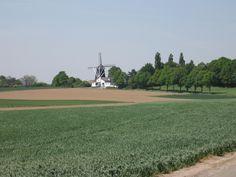 Molen op de Vrouwenheide Ubachsberg Zuid-Limburg