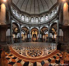 Inside Basilica di Santa Maria della Salute, Venezia, Italia | Flickr - Photo Sharing!