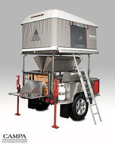 Campa USA   All Terrain Trailers   Camping Trailer   att