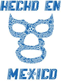 luchador masks illustration - Google Search