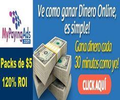 Gana Comisiones CADA 30 MINUTOS  Genera el 120% de tu Inversion al 2% DIARIO Deposito Minimo Inicial de $5 Minimo de Pago de TAN SOLO $5 AÑO Y MEDIO En Linea Plan ESTABLE a Largo Plazo  >> Toma Accion Ya, +Info y Registro Gratis Aqui:  http://marketing-content.net/mypayingads/landing/es #mypayingads #mpa #ganardinero #ingresosonline #negociosonline #negociosporinternet #negociosrentables #negocioseninternet #inversiones #inversionesonline #multinivel #multiniveles #mlm