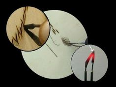 Pyrography Nibs Explained - Part 2. The Skew #suewalters#pyrography