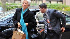 La directora gerent del Fons Monetari Internacional (FMI), Christine Lagarde.