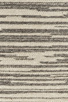 Rake wool & linen rug in Stone colorway, by Merida. Available through 375 Middlesex Tpke. Rug Texture, Fabric Textures, Textures Patterns, Fabric Patterns, Flower Phone Wallpaper, Interior Wallpaper, Linear Pattern, Weaving Textiles, Cool Rugs