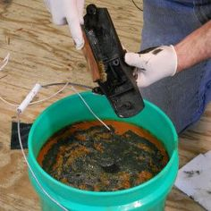 .  Check website with best way to #learn #woodworking here: http://ewoodworking.ninja . The simple process of removing rust with electrolysis. Who knew it was so easy?