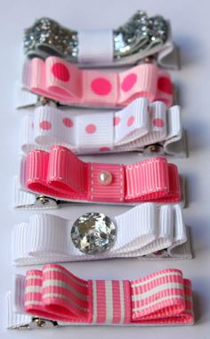 Arcos de Belle princesa colección. Destellos por BellesBowsTas29