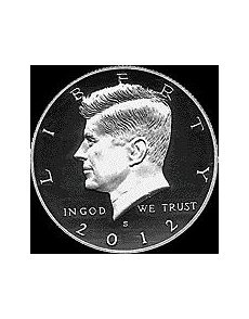 A silver Proof Kennedy half dollar, an example of which is shown, was found by a Kentucky dealer in each of 32 out of 40 2012 Birth sets received from the U. Mint instead of the intended copper-nickel clad Proof half dollar. Kennedy Half Dollar, Copper Nickel, Proof Coins, Kentucky, Birth, Silver, Being A Mom, Money