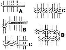 Kolombina: step by step for weaving comb - Smooth sheet 1 Making the warp decorativos ideas paso a paso Inkle Weaving, Weaving Art, Tapestry Weaving, Hand Weaving, Weaving Textiles, Weaving Patterns, Willow Weaving, Basket Weaving, Weaving Wall Hanging