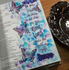 My Weekly Bible Journaling #43 – Psalms | Paulette's Papers