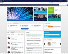 Sharepoint Design, Sharepoint Intranet, Intranet Design, Corporate Website Design, Homepage Design, Web Design Trends, Corporate Communication, Communication Design, Page Layout