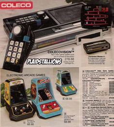 Oh Colecovision...so many memories. I still have it in my garage. I also remember my friend had the little arcade games at the bottom.