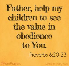 The Value of Obedience Prayer for my children Pray for your kids Prayer For Mothers, Prayer For My Children, Bible Verses For Kids, Mom Prayers, Prayers For Kids, Prayer Board, Father's Prayer, Prayer Scriptures, Power Of Prayer