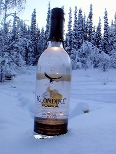 Klondike Vodka from Dawson City, Yukon