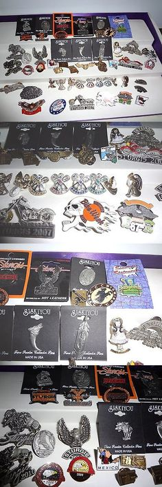 collectibles: Lot Of 50 Vintage Sturgis Etc. Vest Lapel Pins New Condition Free Shipping -> BUY IT NOW ONLY: $50 on eBay!